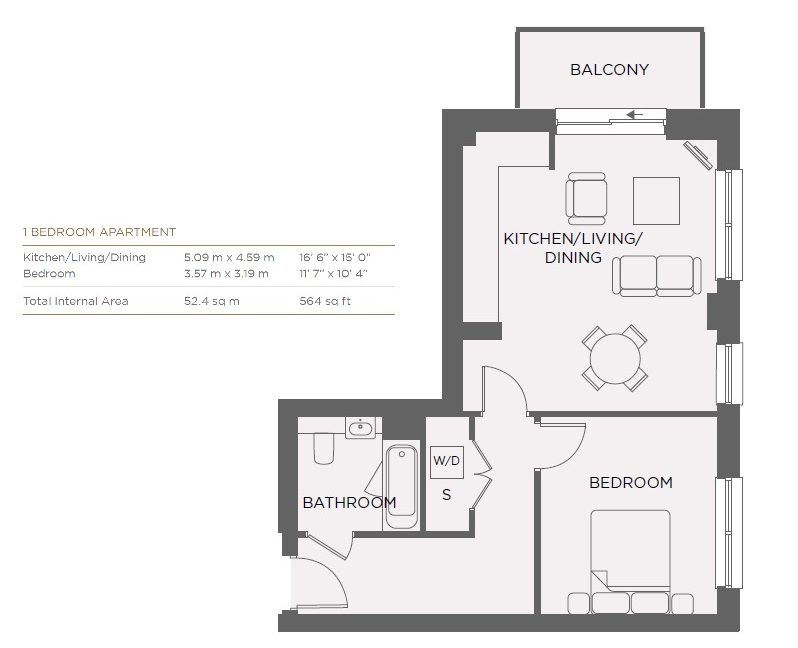 Kew Court Floorplan